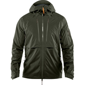 Fjällräven Keb Eco-Shell Jacket Herren deep forest